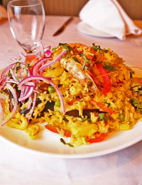 Les plats de riz